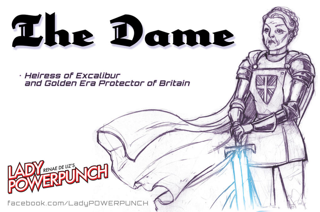 The Dame by RenaeDeLiz