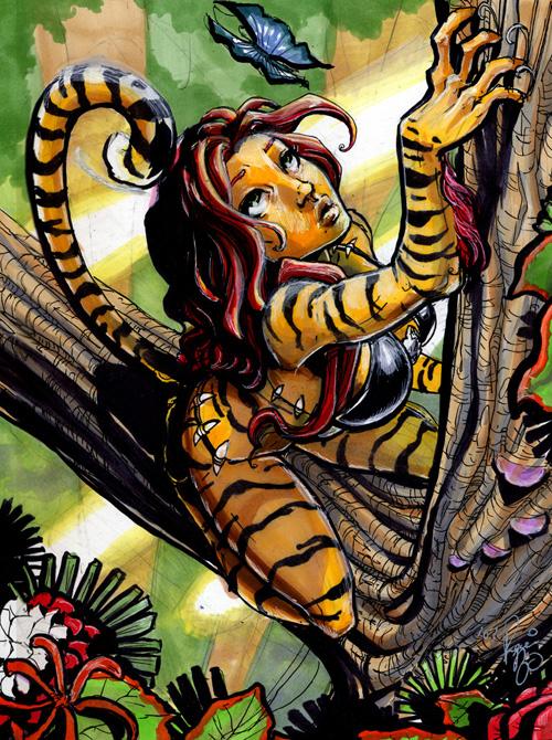Tigra by RenaeDeLiz