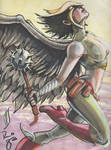 Convention Sketch: Hawkgirl