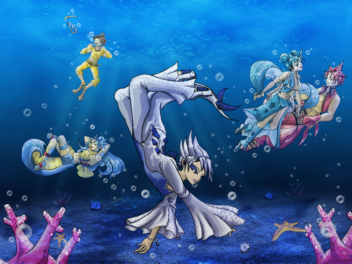 Pokemon Underwater by NeoKin on DeviantArt