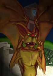 Bat Man Hybrid by Montyok