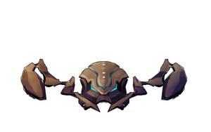 Alien Crab by Montyok