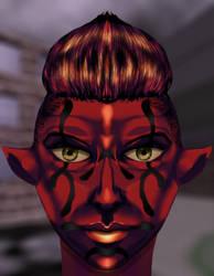 Sithish Portrait by Montyok