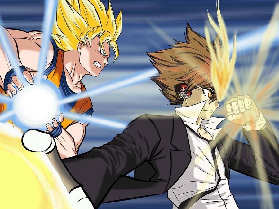 Goku and Tsuna by Shight