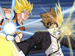 Goku and Tsuna