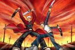Archer vs Shirou