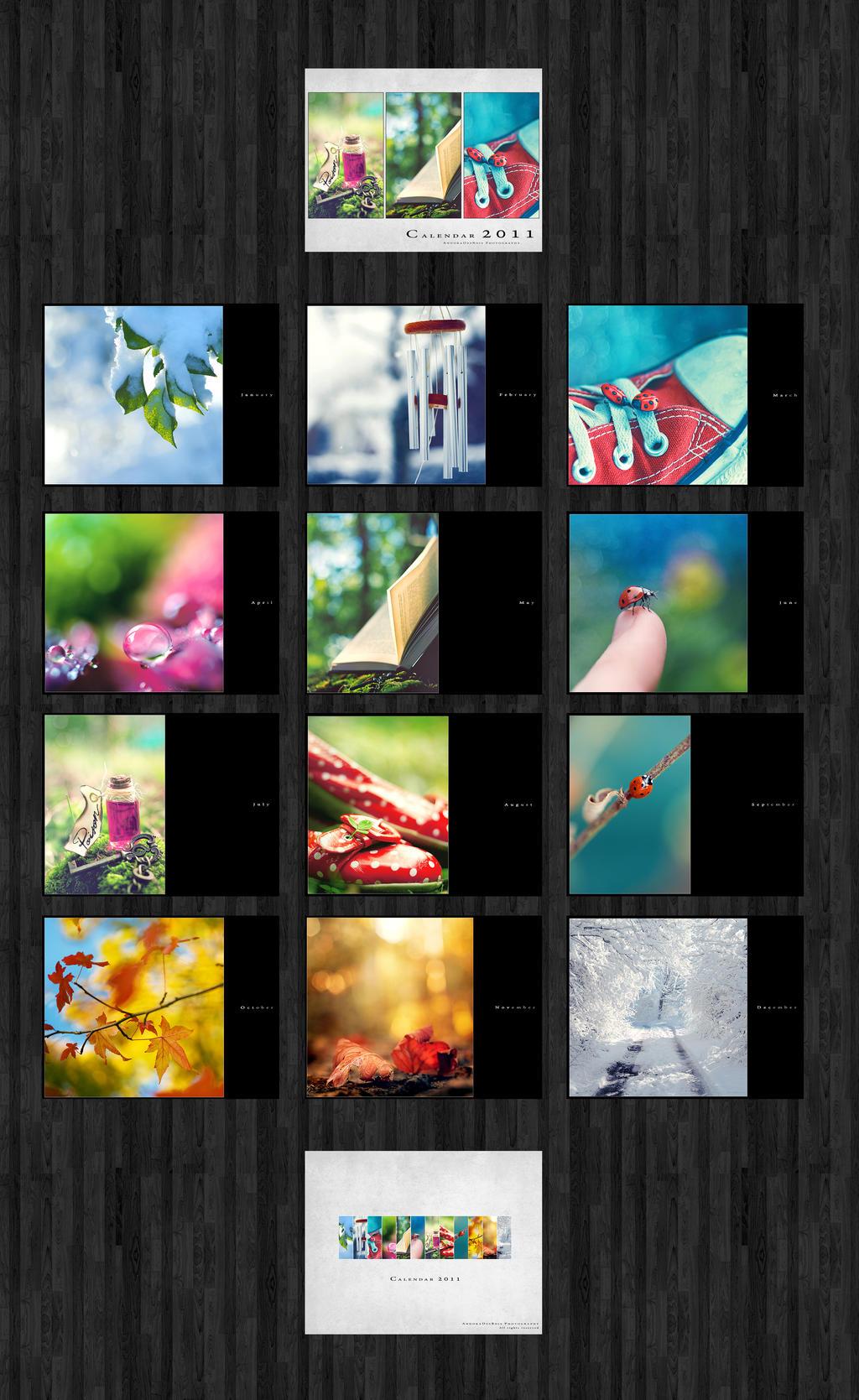 Calendar 2011 AndokaDesBois by andokadesbois