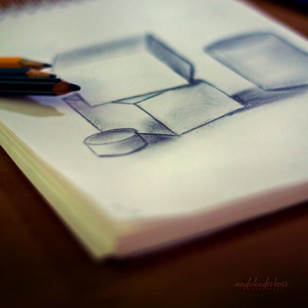 D-2. The life is a cube. by andokadesbois