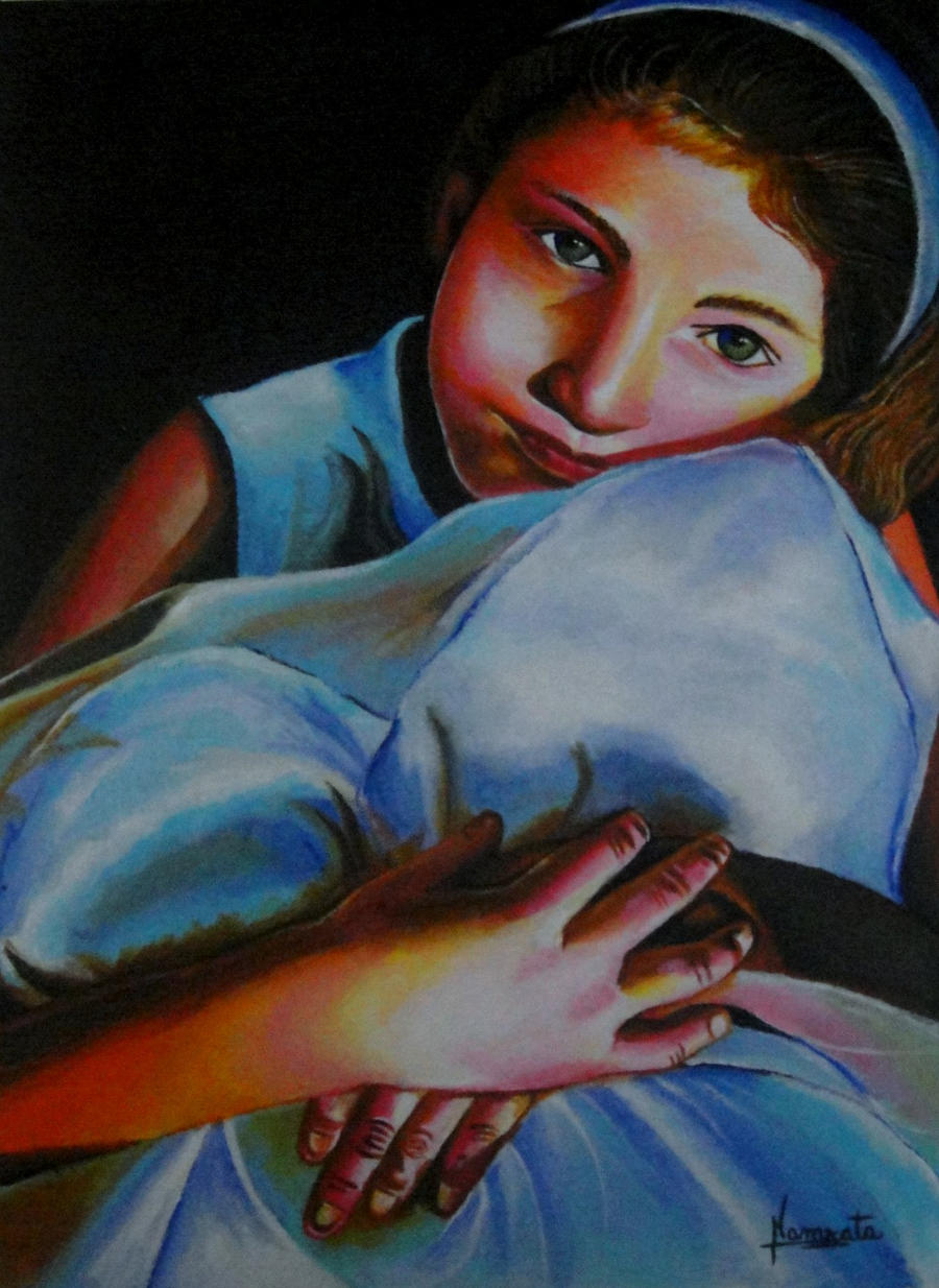 little girl by capricorn-kid