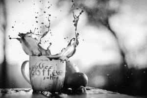 Coffee splash by agatkk