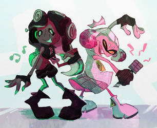 The DJ and the Princess by espimyte
