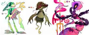 Emoticon Character Designs