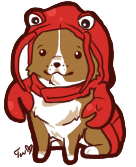 Chibi Lobster Dog by Turkey-Wang