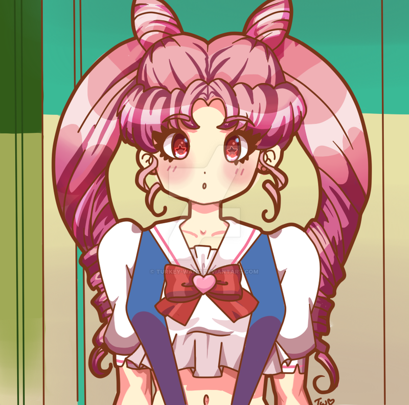 Screenshot Redraw - Chibiusa by Turkey-Wang