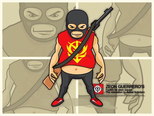 Zeon Guerreros by mindriders