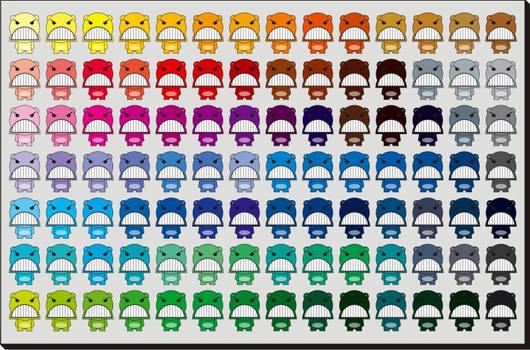 ANGOO color guides