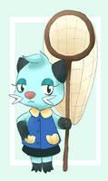 Dewott In Animal Crossing Style