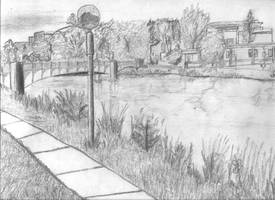 River Drawing scan
