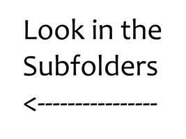 LookInTheSubfolders