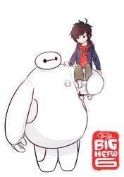 Big Hero 6 - Hiro and Baymax by Dai-kunn
