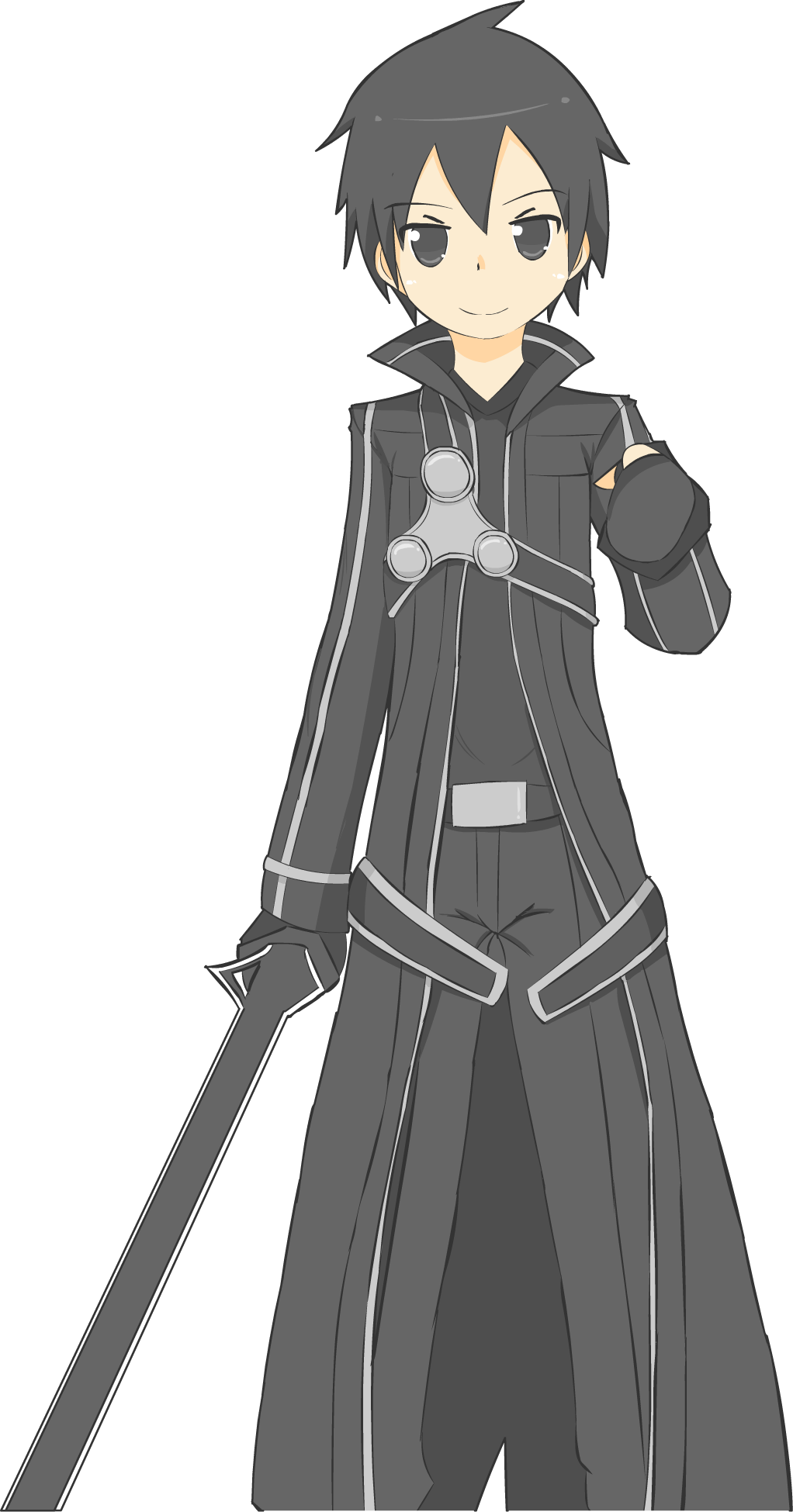 Kirito Sao By Rong Rong On Deviantart