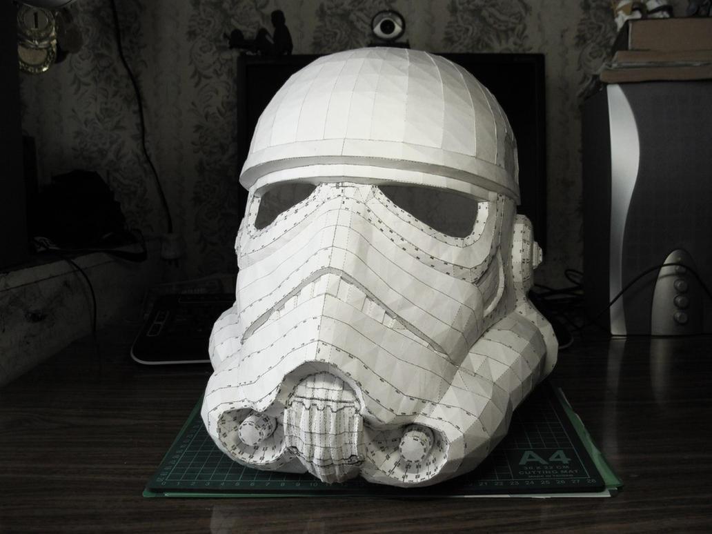 Шлемы из бумаги