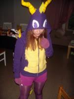 Spyro the Dragon cosplay by cookietex