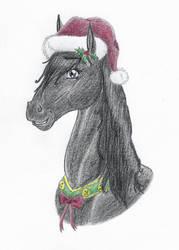 christmas horse by EclipsisHorreum