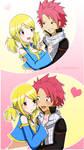 NaLu flirting