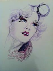 Effie Trinket by queen-of-muchness