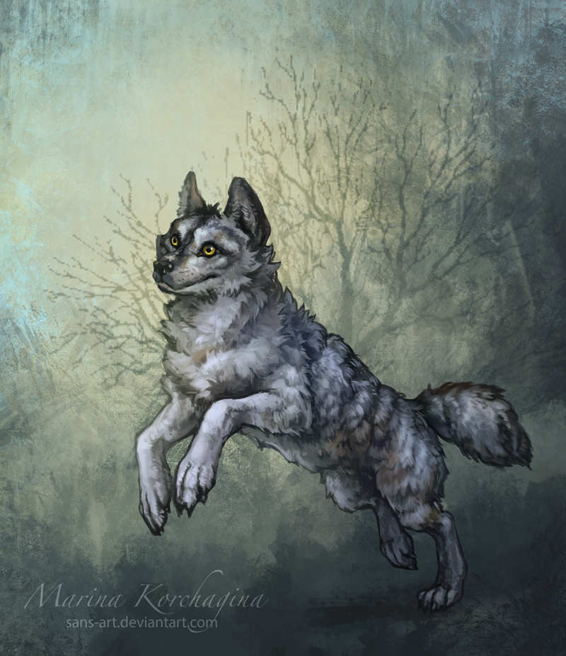 GrayWolf by sans-art