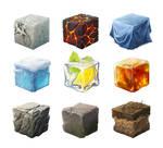 Challenge materials