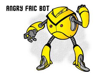 Newgrounds Angry Faic Robot