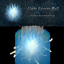 Light Energy Ball Stock