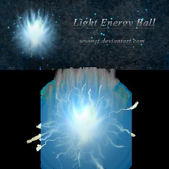 Light Energy Ball Stock by Wyonet