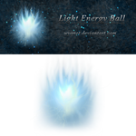 Light Energy Ball Stock