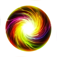 Energyball Swirl by Wyonet