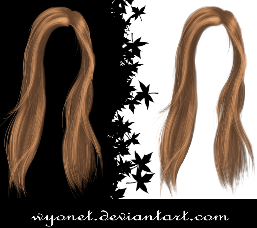 Hair Stock 3 by Wyonet