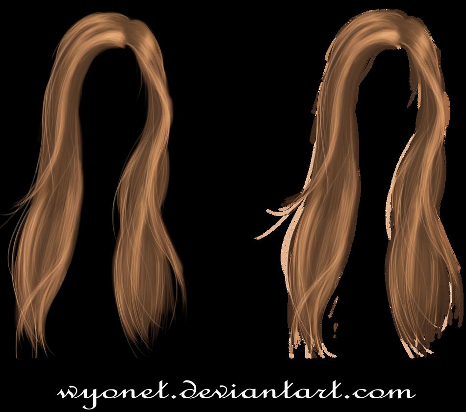 Hair Stock 3 by Wyonet