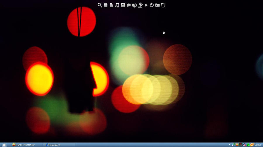 my recent desktop. by poporina