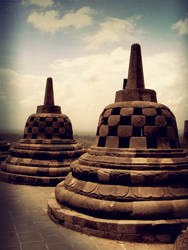 another stupa of borobudur by poporina