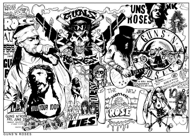 Guns N Roses by Foolaa on DeviantArt