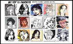 The Top 105 Hottest EroComic Babes (III) by Victor2K