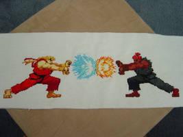 Ken vs Akuma