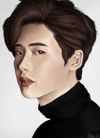 Lee Jong-suk by Hunnypuzzle