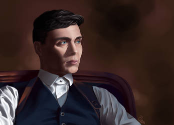 Thomas Shelby by Hunnypuzzle