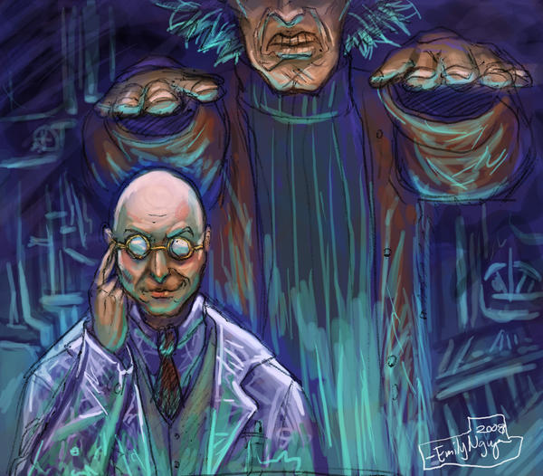 Frankie and Dr. Frankenbeans by Sleepy-Hillhurst