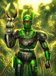Green Hunter Beetleborg