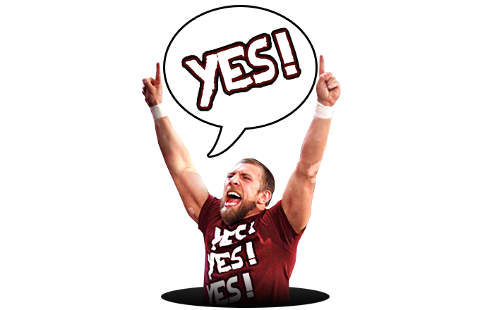 2014 WWE Official Daniel Bryan YES! YES! YES! 2 Foam ...