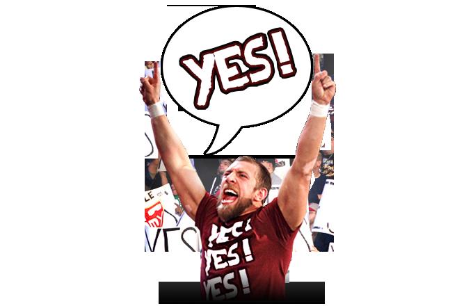 2014 WWE Official Daniel Bryan YES! YES! YES! 2 Foam ...